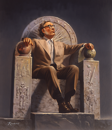 isaac_asimov_on_throne blade runner