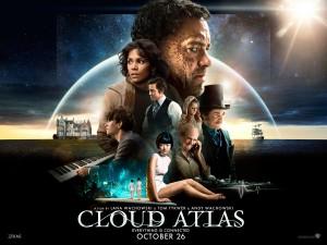 Cloud Atlas - Andy & Lana Wachowski et Tom Tykwer dans Science-fiction affiche-cloud-atlas-300x225