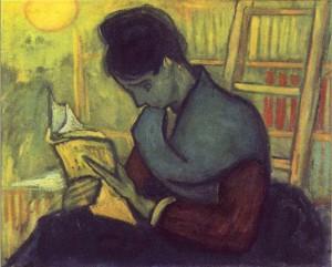 un-lecteur-de-roman-van-gogh-300x241 autoédition dans Points d'étape