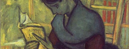 Un lecteur de roman - Van Gogh