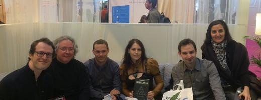 Au Salon du Livre 2014 avec Amazon et Kobo