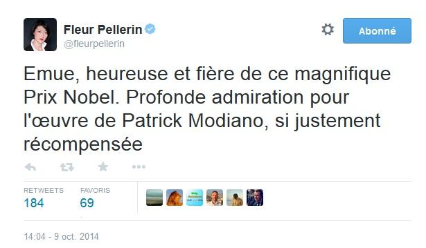 Tweet Fleur Pellerin
