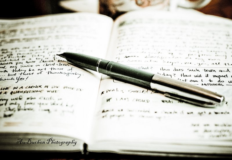 Stylo et journal
